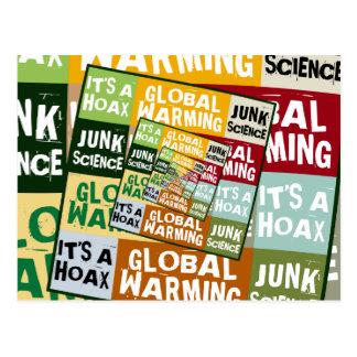 Global Warming Fraud Postcard