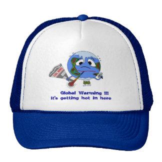Global Warming !!! Hats