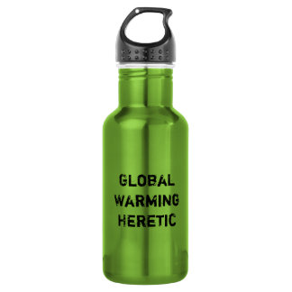 Global Warming Heretic 18oz Water Bottle