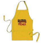 Global Warming Hoax Apron
