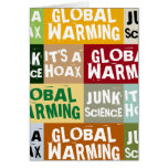 Global Warming Hoax Cards