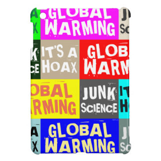 Global Warming Hoax iPad Mini Cover