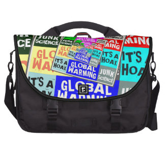 Global Warming Hoax Bags For Laptop