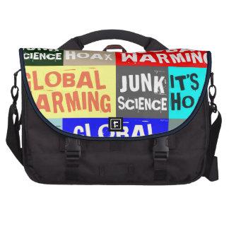 Global Warming Hoax Commuter Bags