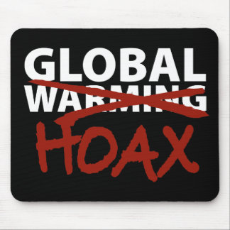 Global Warming Hoax Mouse Pad