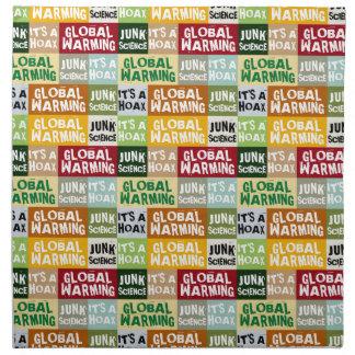 Global Warming Hoax Napkin