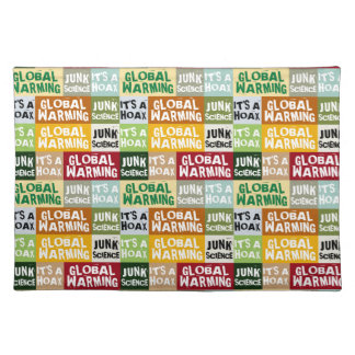 Global Warming Hoax Placemat