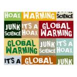 Global Warming Hoax Postcards