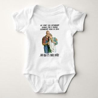 Global Warming Humor Baby Bodysuit