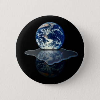 Global Warming I Pinback Button