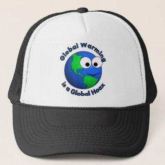 Global Warming is a Global Hoax Trucker Hat