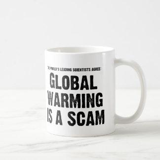 Global Warming is a Scam Coffee Mug