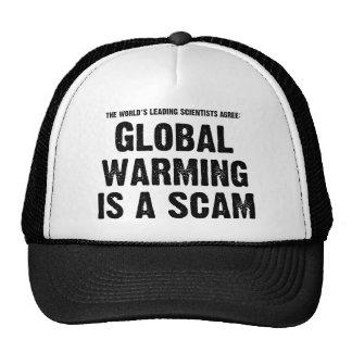 Global Warming is a Scam Trucker Hat