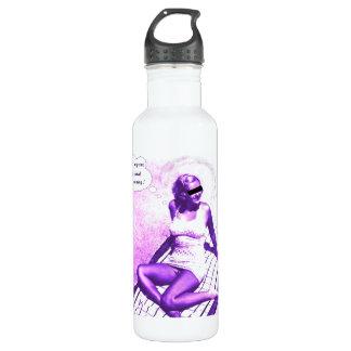 Global warming is fun! 24oz water bottle