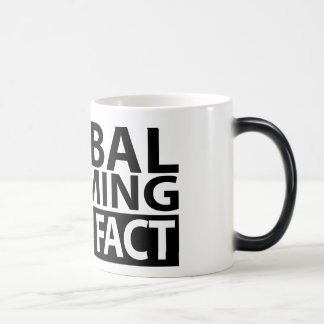 Global Warming is not Fact 11 Oz Magic Heat Color-Changing Coffee Mug