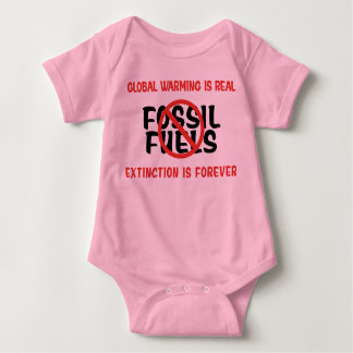 Global Warming Is Real Baby Bodysuit