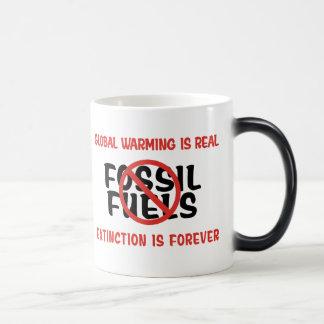 Global Warming Is Real Magic Mug