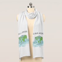 Global Warming is so Uncool Scarf
