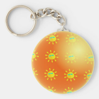 Global Warming Keychain