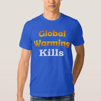 Global Warming Kills Basic American Apparel T-Shirt