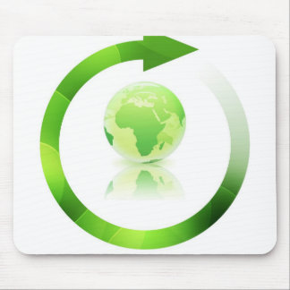 Global Warming Mouse Pad
