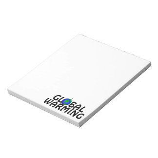 Global Warming Notepad