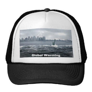 Global Warming NYC Trucker Hat