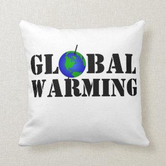 Global Warming Pillow