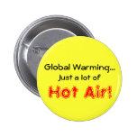 Global Warming Pinback Button