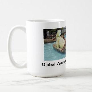 Global Warming Polar bear mug