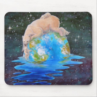 Global Warming Polar Bears Mousepad