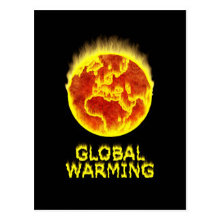 Global Warming Post Cards