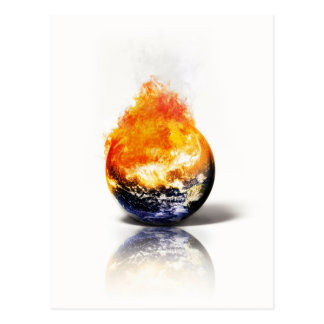Global Warming Postcard