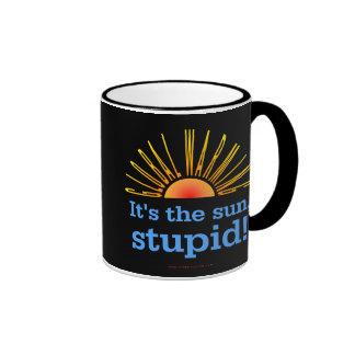 Global Warming Ringer Mug