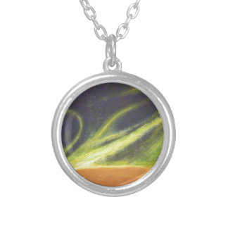 Global Warming Round Pendant Necklace