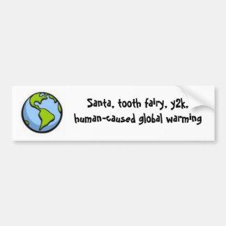 global warming scam bumper sticker