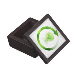 Global Warming Small Gift Box  Premium Jewelry Box