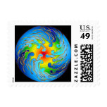 Global Warming Space Postage