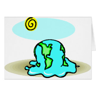 Global Warming! Spread the word Card