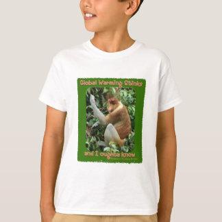 Global Warming Stinks T-Shirt