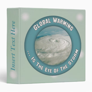 Global Warming Storms Earth Day Avery Binder