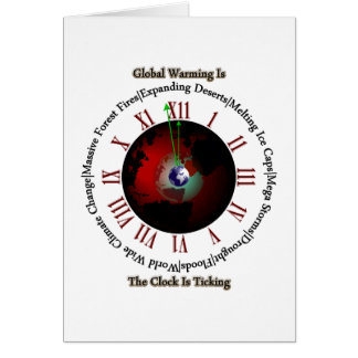 Global Warming - Time Is Running Out Cards