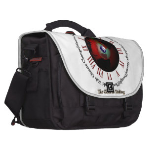 Global Warming - Time Is Running Out Bag For Laptop