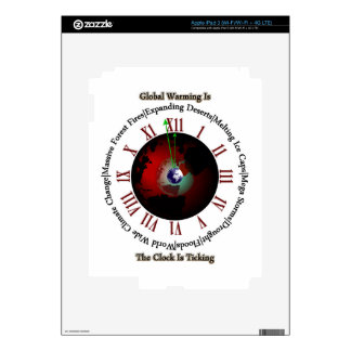 Global Warming - Time Is Running Out iPad 3 Skins