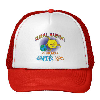 Global Warming Trucker Cap Trucker Hat