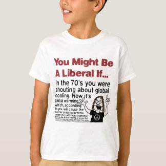 Global Warming Vs. Global Cooling T-Shirt