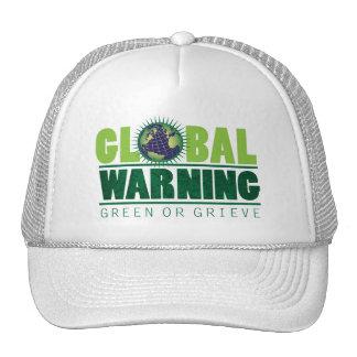 Global Warning Trucker Hat