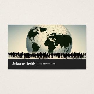 Global Worldwide Enterprise Company Corporation Business Card