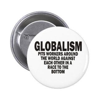 Globalism Pinback Button