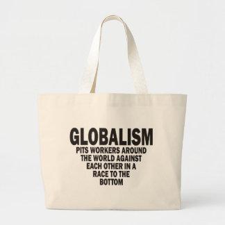 Globalism Large Tote Bag